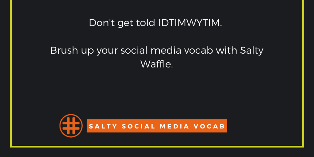 Salty Social Media Vocabulary: Motivated by FOMO Edition