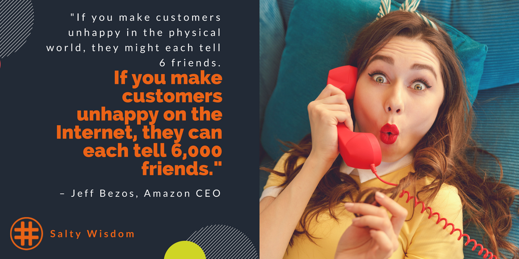 jeff bezos quote. social media automation, social media agency, digitial marketing, Nicole Donnelly