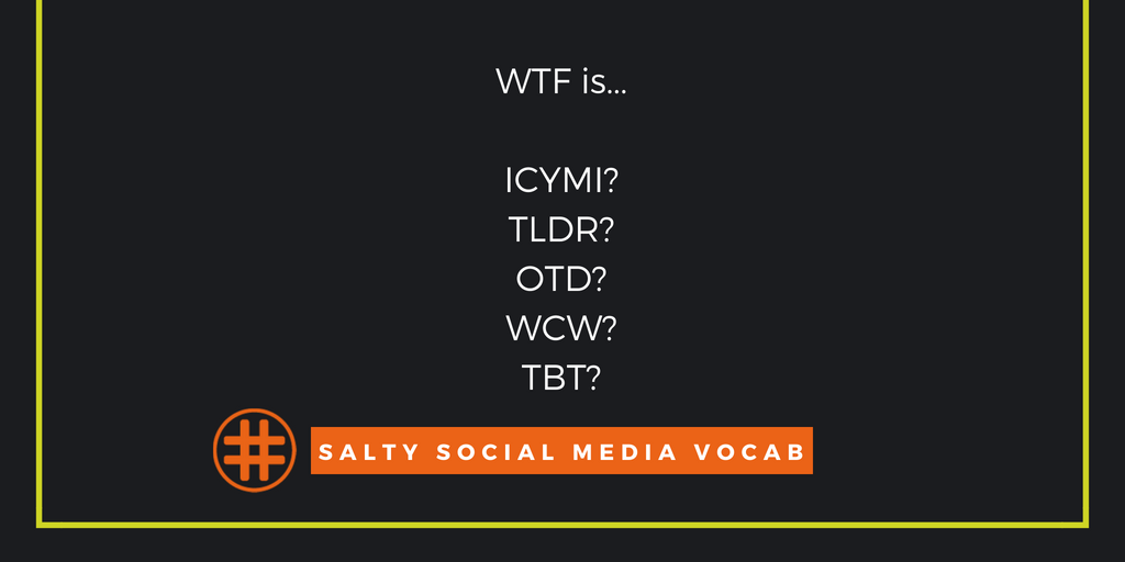 Social Media Vocabulary: Some Abbreviations