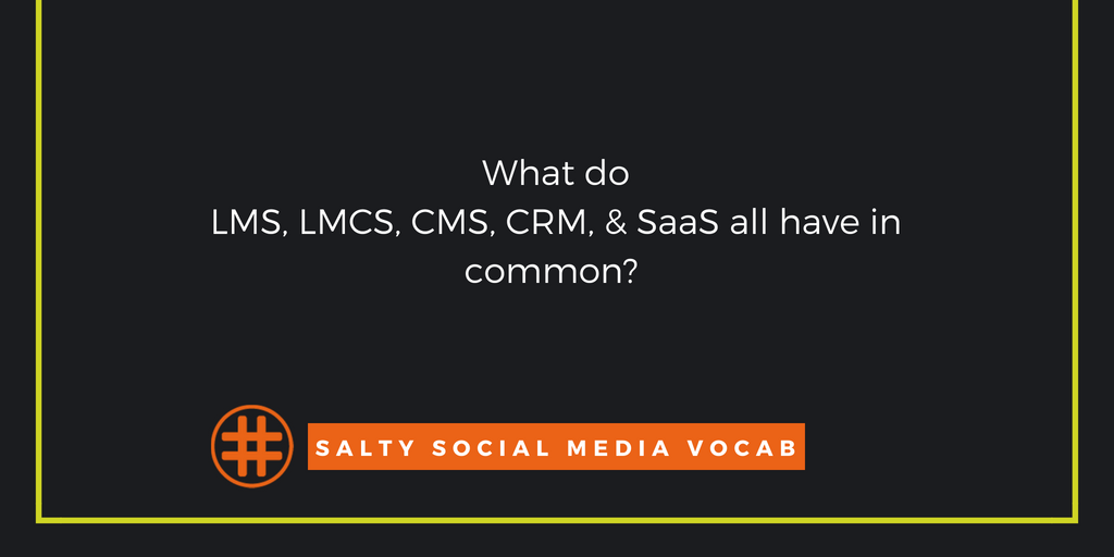 Salty Social Media Vocabulary: System of a Cloud Edition